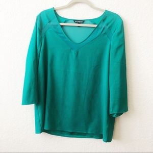 EXPRESS EMERALD BLOUSE